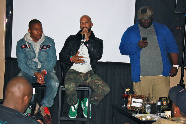 "Common's Private Screening of New Movie ""LUV""- In Theaters Jan 18th"