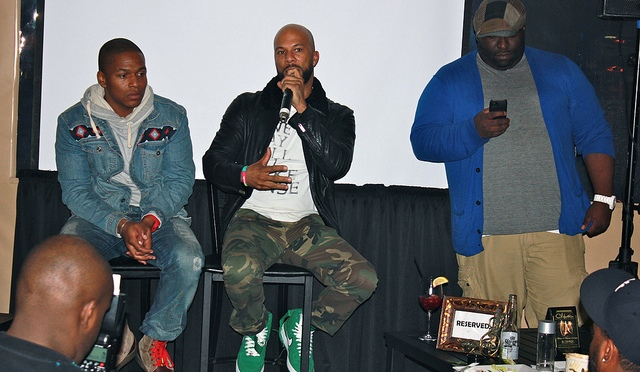 """Common's Private Screening of New Movie """"LUV""""- In Theaters Jan 18th"""
