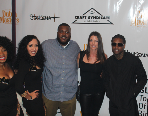 DutchMasters Models pose with winners Kofi the Bandit, Sarah with Craft Syndicate and Lil Durk Photo Credit Jonell Media PR