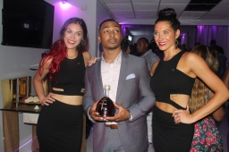 Dusse' Models and actor RonReco Lee - Photo Credit Jonell Media PR