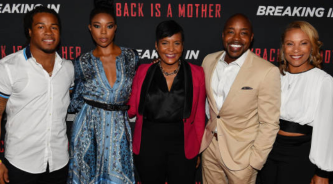 "Gabriel Union's Private Atlanta Screening of ""Breaking In"""