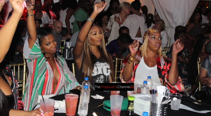 Real Housewives of Atlanta Cast attend Blaque's Performance at ATL Live in the Park