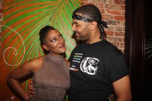 Actress Khalimah Gaston and Actor Angelo Diaz