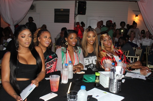 Porsha Williams, Eva Marcelle, Kandi Burruss, Cynthia Bailey, Nene Leakes - Photo Credit Jonell Media PR