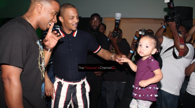 "Rapper T.I. hosting ""The Grand Hustle"" Premier Party in Atlanta"