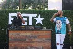 DJ D-nice and Kenny Burns -Photo Credit Jonell Media PR