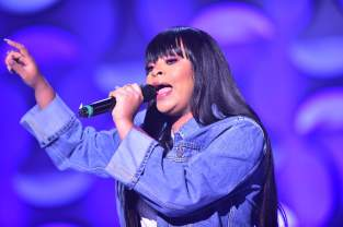 Singer Koryn Hawthorne attends the 'BET Her Fights Breast Cancer' special event at Riverside Epicenter on September 20, 2018 in Atlanta, Georgia
