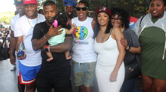 Akbar V, Breezy, Milan Christopher and the Norwood Family hit PRIDE festival at Piedmont Park