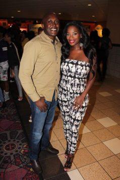 Shamea Morton and her husband Mr. MwangiPhoto Credit Jonell Media PR