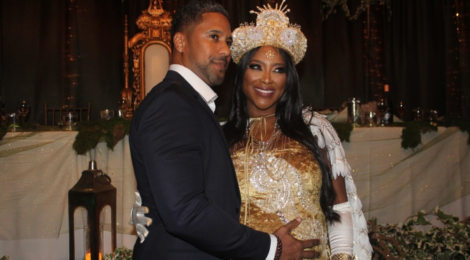 "Kenya Moore's Princess ""Happily Ever After"" Theme Baby Shower"