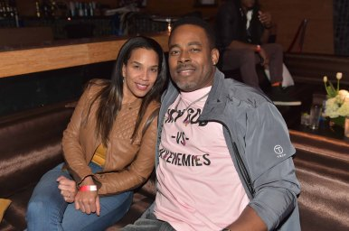 ATLANTA, GA - OCTOBER 23: (L-R) Kelly Davis-Rucker and husband actor Lamman Rucker attend Ready to Love Premiere Watch Party at Suite Lounge on October 23, 2018 in Atlanta, Georgia. (Photo by Moses Robinson/Linximages)