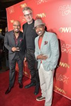 """ATLANTA, GA - OCTOBER 23: (L-R) Thomas """"Nephew Tommy"""" Miles, Jonathan Sinclair film producer Will Packer attend Ready to Love Premiere Watch Party at Suite Lounge on October 23, 2018 in Atlanta, Georgia. (Photo by Moses Robinson/Getty Images)"""
