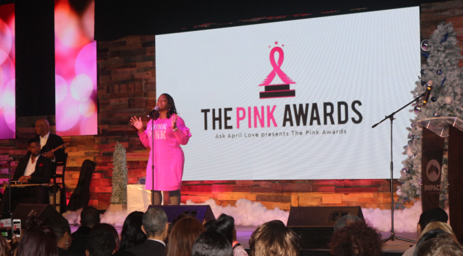 "TIG Founder Girvin ""Fly"" Henry Pays Holiday Bills For Breast Cancer Ladies at Ask April Love ""Pink Awards"""