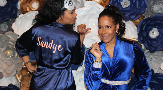 Sheree Whitfield Celebrates her Birthday with Pajama Themed Party