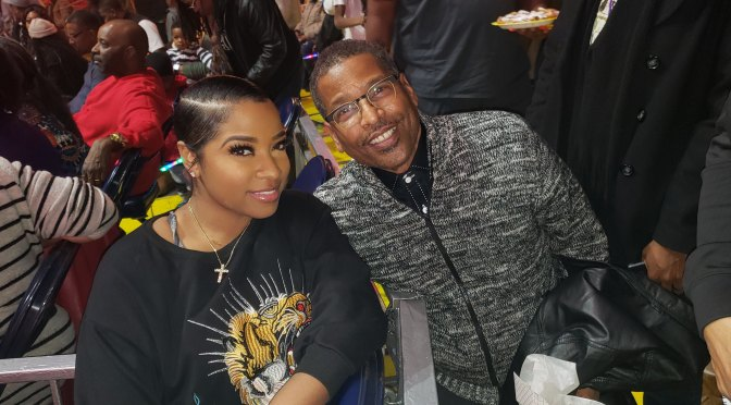 Universoul Circus Opening Week in Atlanta – Toya Wright – Toya Bush Harris and Bob Whitfield