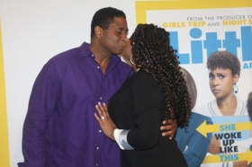 Trina and fiance in love