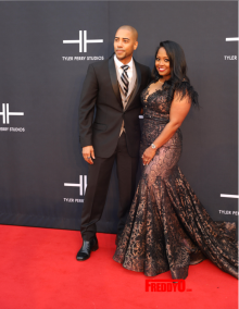 Brad James and Keshia Knight-Pulliam