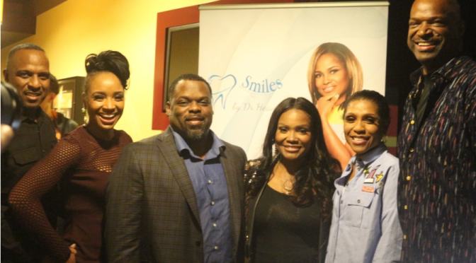 Dr Heavenly hosts Black & Blue Screening -invites almost all her castmates