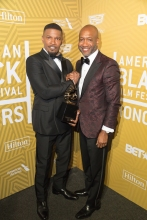 Jamie Foxx and Palmer Williams 2020 ABFF Honors