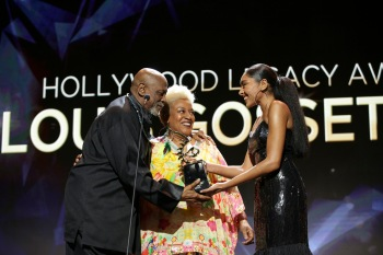 Lou Gossett accepting his 2020 ABFF Honor