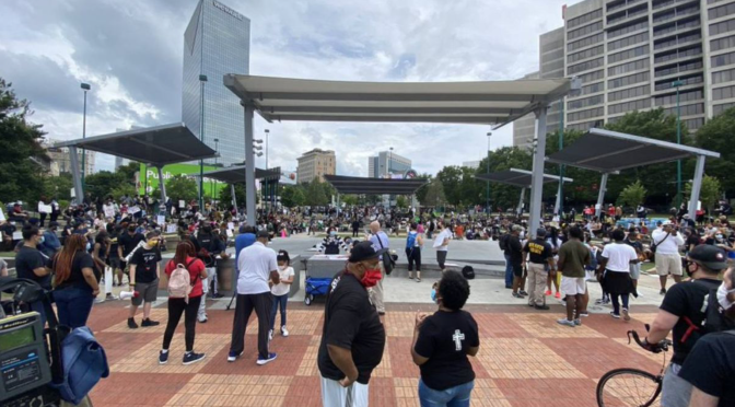 Centennial Olympic Park in Atlanta closed indefinitely