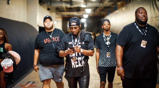 Authentic Empire rap Artist Money Mu Hits the stage With brs kashkash at Rolling Loud Concert in Miami